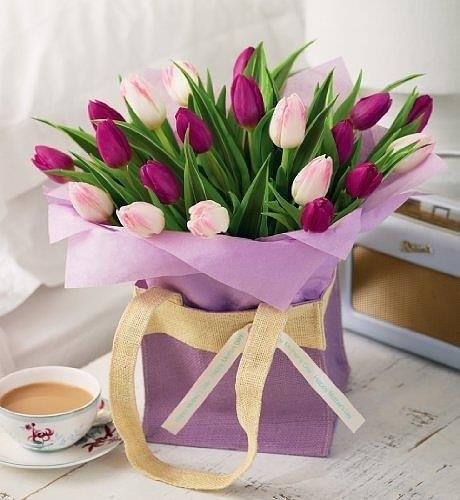 Цветы на 8 марта подарки
