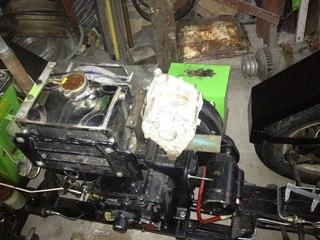установка автомобильного генератора на мотоблок схема