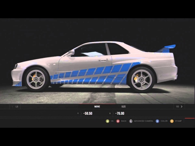 Forza 4 :: 2 Fast 2 Furious - ★Brian O'Connor - Skyline R34★ Remake