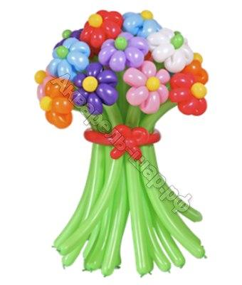 Букеты из цветов шаров