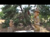 Удивительное деревянное зодчество Музей в Мещере. Пра