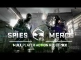Splinter Cell: Blacklist - Spies vs. Mercs - Трейлер