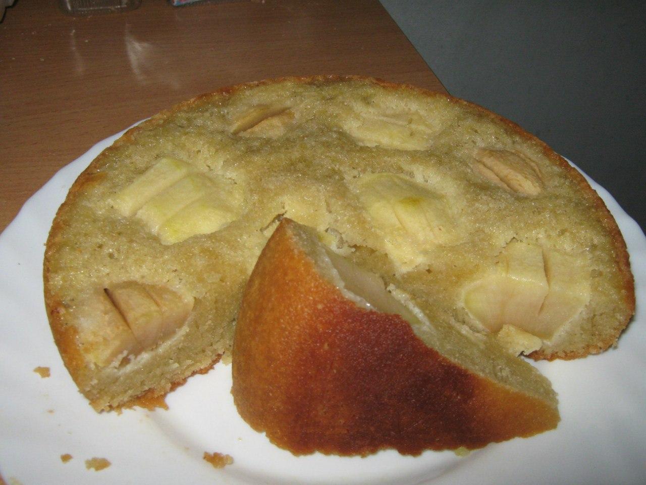 Яблочный пирог по-деревенски