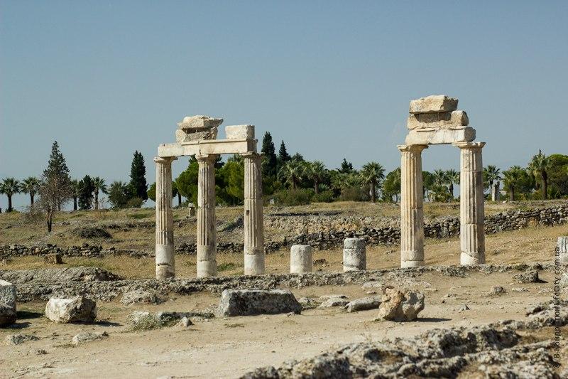 Памуккале: античный город