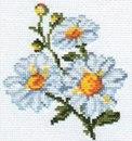 Набор для вышивания крестиком - Ромашки Набор для вышивания Артикул: 0-42 Размер: 10х11 см Техника вышивания...