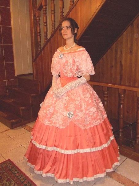 Как сшить платье бальное 18 века 9