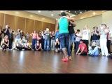 2nd International Istanbul dance festival 2013, Kizomba workshop, Morenassi y Anais