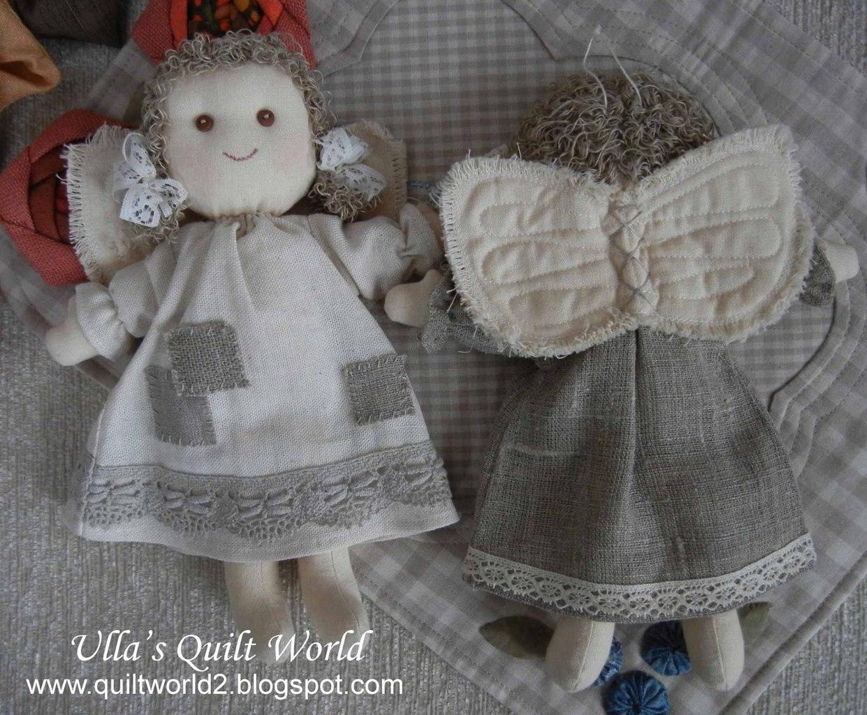 Ангелочки своими руками из ткани для начинающих