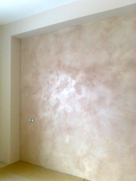 Перламутровая краска для стен фото