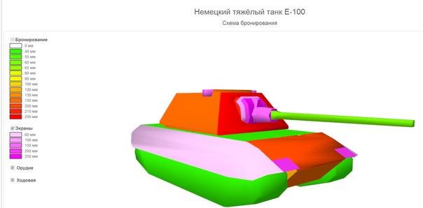 Е100 схема бронирования