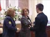 Торжественная церемония вручения паспортов в Администрации Выборгского района