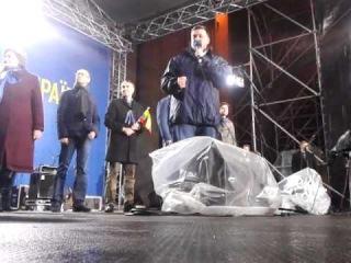 Виступ Олега Тягнибока на Европейській площі 26.11.2013 Частина 2