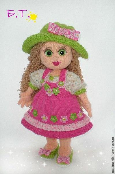 Мк вязание куклы елены ткачевой 1