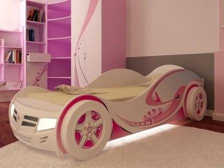 Детские кровати для девочек от интернет-магазина «ЮНИРУМ»