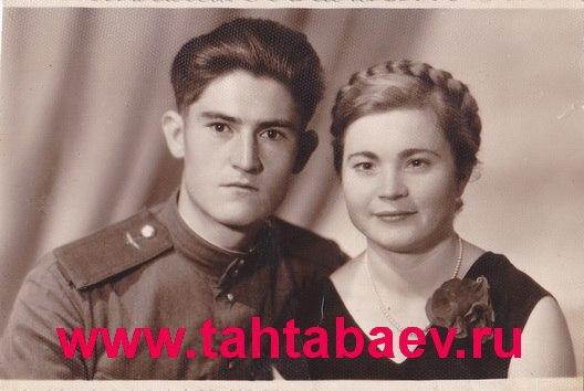 Родители Геннадия Тахтабаева