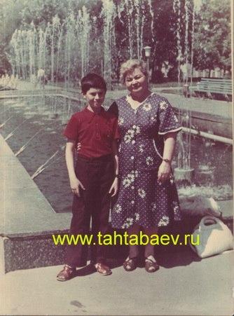Мама Геннадия Тахтабаева