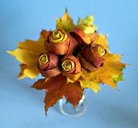какую поделку можно сделать из фруктах и овощей про осень.