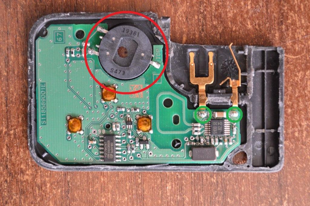 Чип ключ рено меган схема