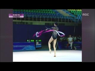 Hayakawa Sakura RG Asian Championships 2013 Tashkent AA Ribbon