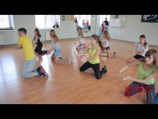 Танцевальная школа Михаила Колтунова New Project, мастер-клаcc Hip-Hop