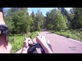 Rollerski track recumbent slide - Uncut version