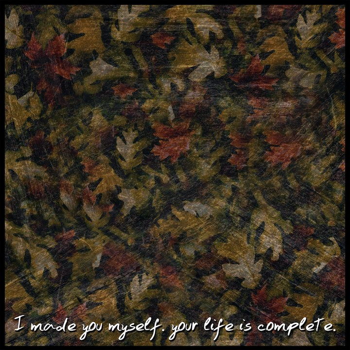 I Made You Myself - Your Life Is Complete (2012)