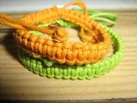 Как плести способом макраме? :) плетение двойного браслета shambala плетение макраме видео.