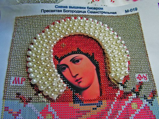 Вышивка икон бисером под заказ