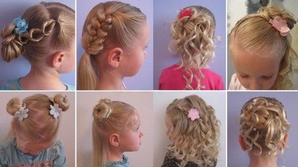 причёска для девочки 10 лет:
