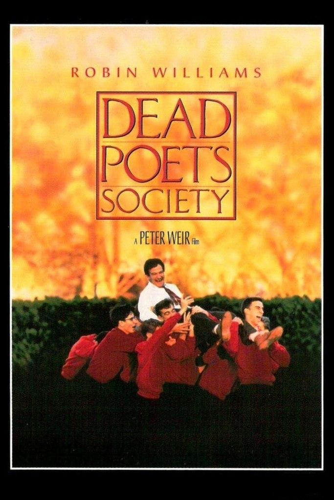 """27.07  """"Dead Poets Society"""" в Синематеке"""