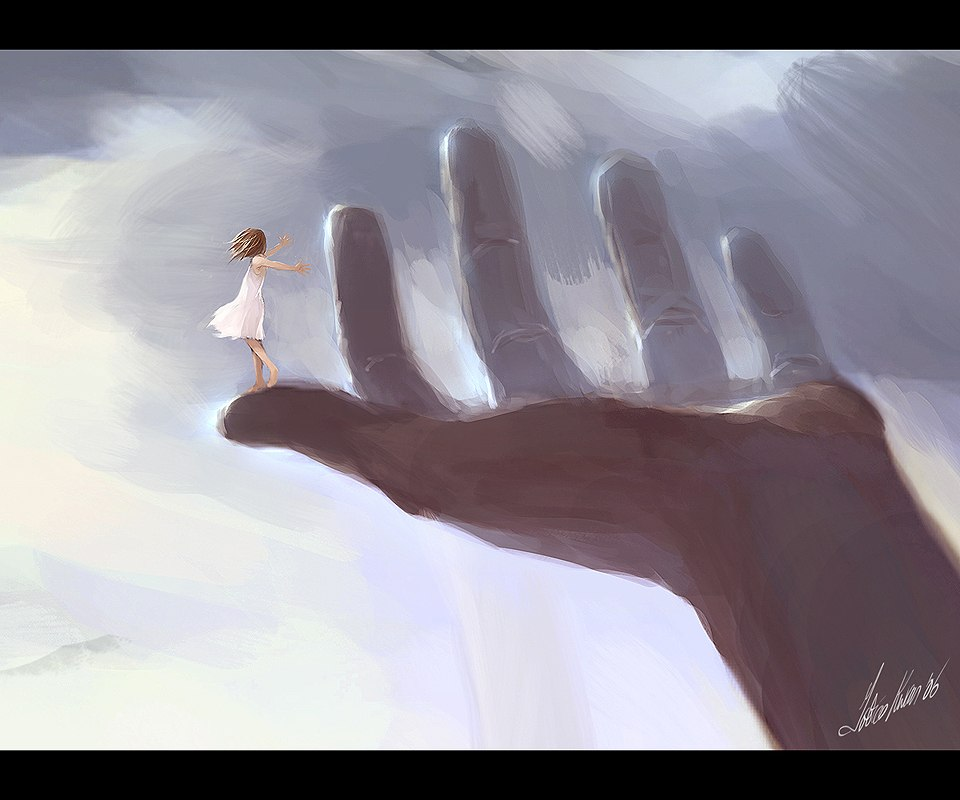 Намальована рука