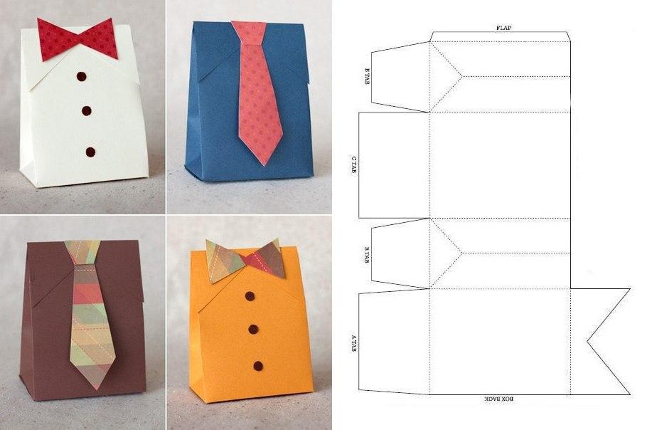 Подарочная коробка своими руками: 30 простых идей 29