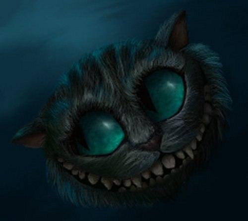 Улыбка Чеширского кота.