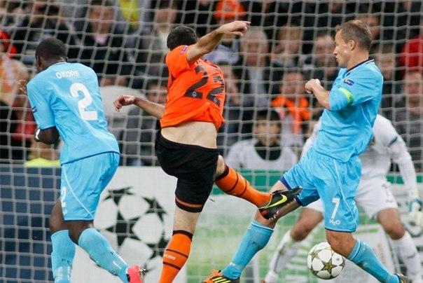 Football-Champions League. 20/09/2012. Mkhitaryan fires Shakhtar to