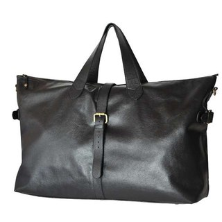 дорожная кожаная сумка мужская.