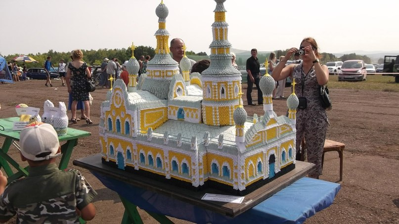 Храм мастер класс оригами