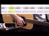 Гитарный бой № 6 (урок на гитаре)