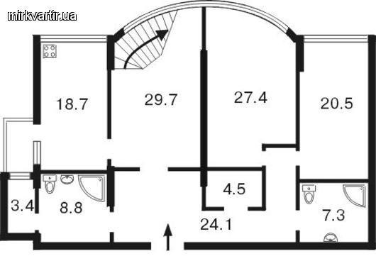 Сдам офис на ул.Саксаганского 121, Ботаник Тауер, 149грн/метр -YWMexe3_NY