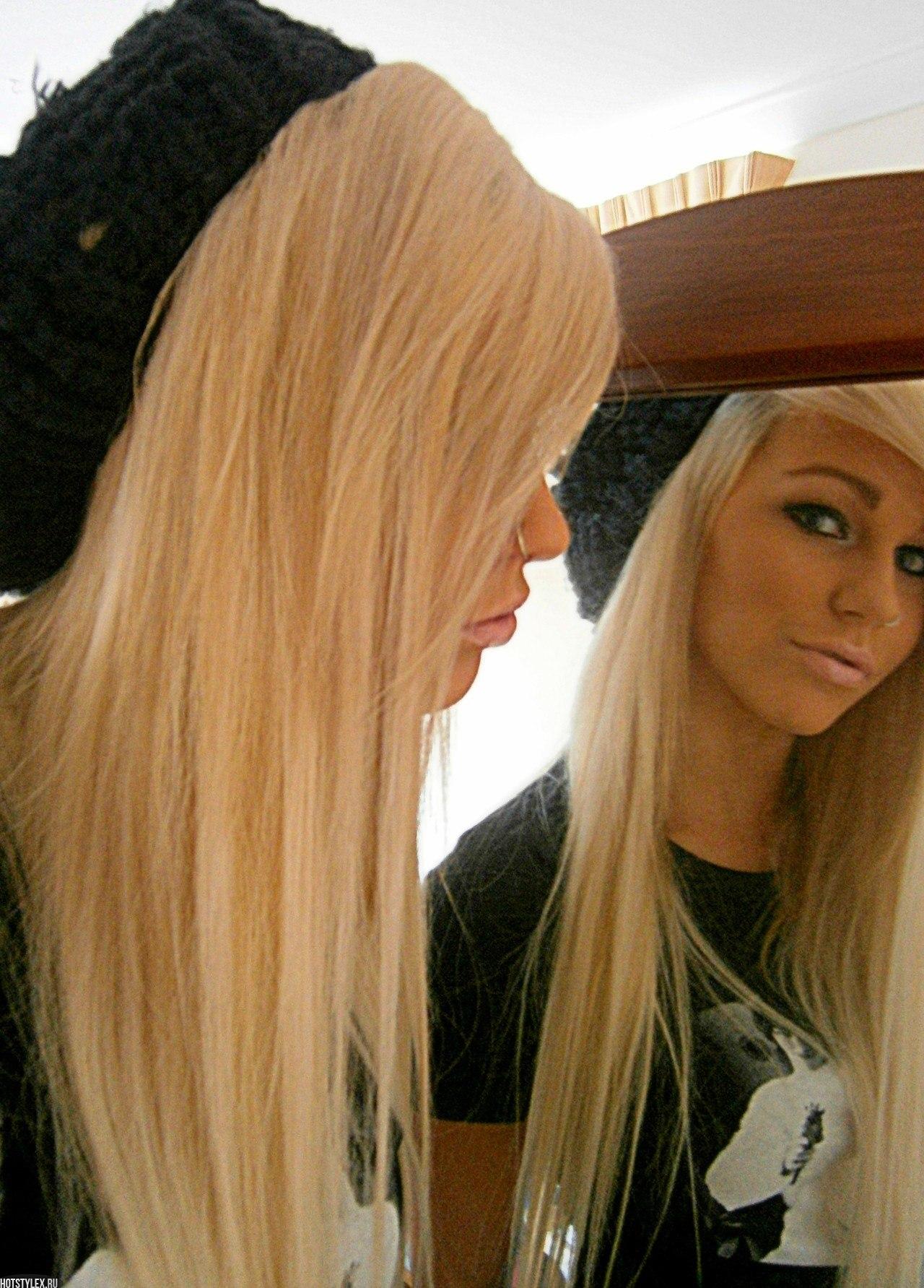 Фото красивой девушки блондинки на аву вк
