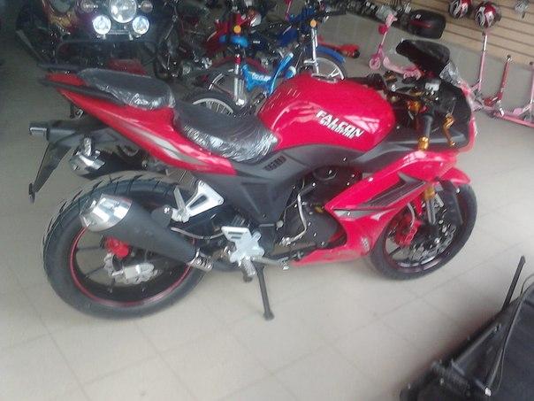 Мотоцикл falcon speedfire 250cc красный цена 88 000