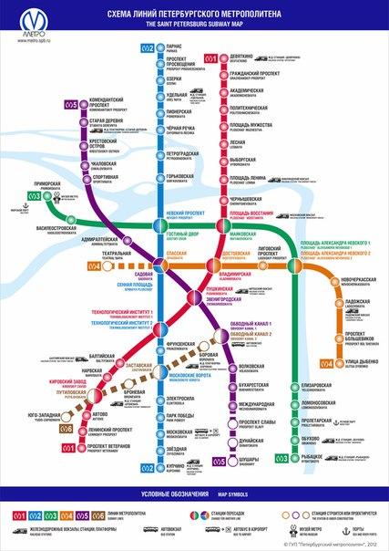 и метро Санкт-Петербурга