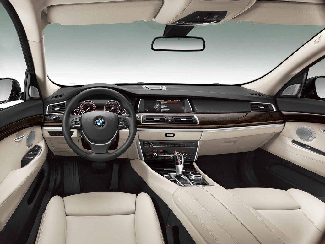 Интерьер BMW GT 2014