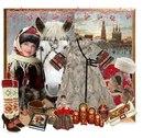Русский старинный стиль-это пышные юбки,меха,вышивка,валенки,павлопосадские и оренбургские платки,шали...