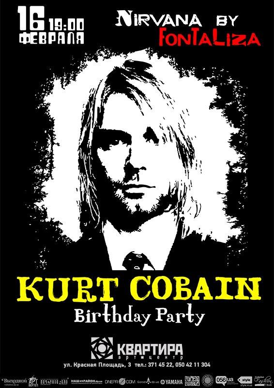 FONTALIZA  (Kurt Kobain birthday) Nirvana cover party