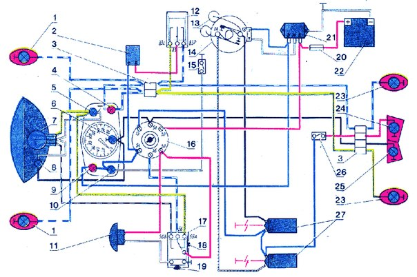 Схема Проводки Ява 6В