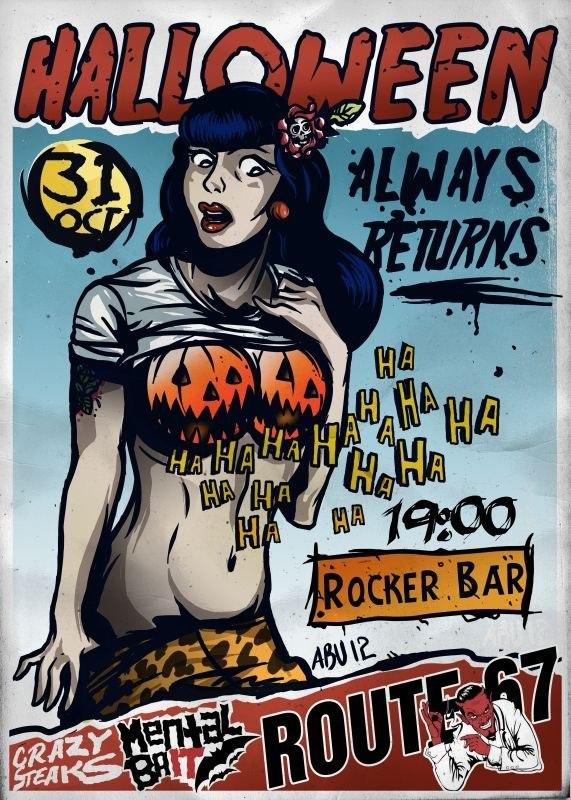 31.10 Halloween always returns... Минск.