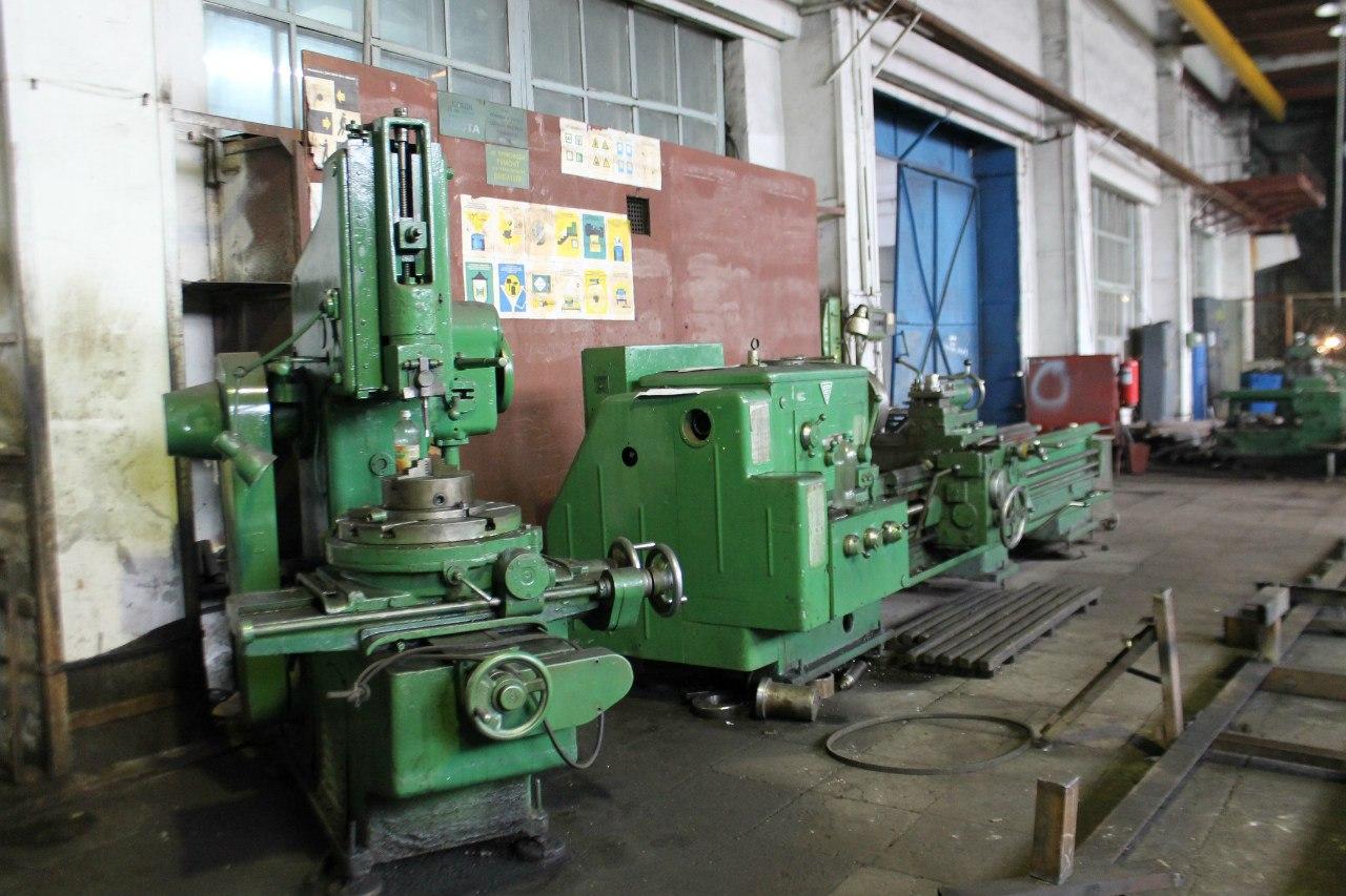 Механообрабатывающее оборудование в цехах завода
