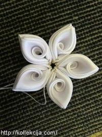 32.Изготовление роз из атласной ленты.  33.Как собрать многослойный цветок канзаши. педагогические технологии для...