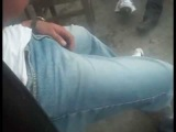 (over 18 years old) Sexy guy sagging Tocando Bulto