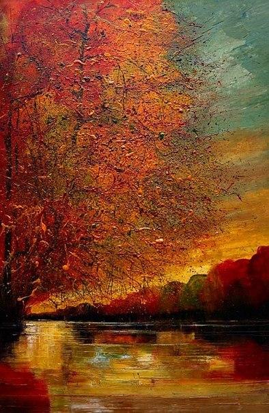 Великолепные картины написанные маслом. Художник Justyna Anna Kopania.